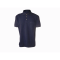 100% cotton men's plain polo-shirt short sleeve
