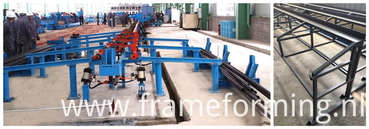 steel tube roll making machine