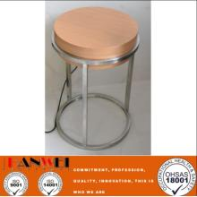 Coffee Table Solid Wood Steel Frame Hotel Furniture