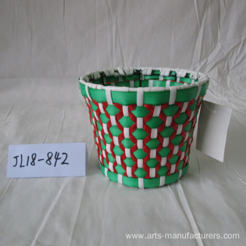Round Plastic Flower Pot