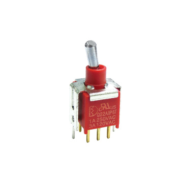Waterproof IP67 Sealed Sub-Miniature Toggle Switch