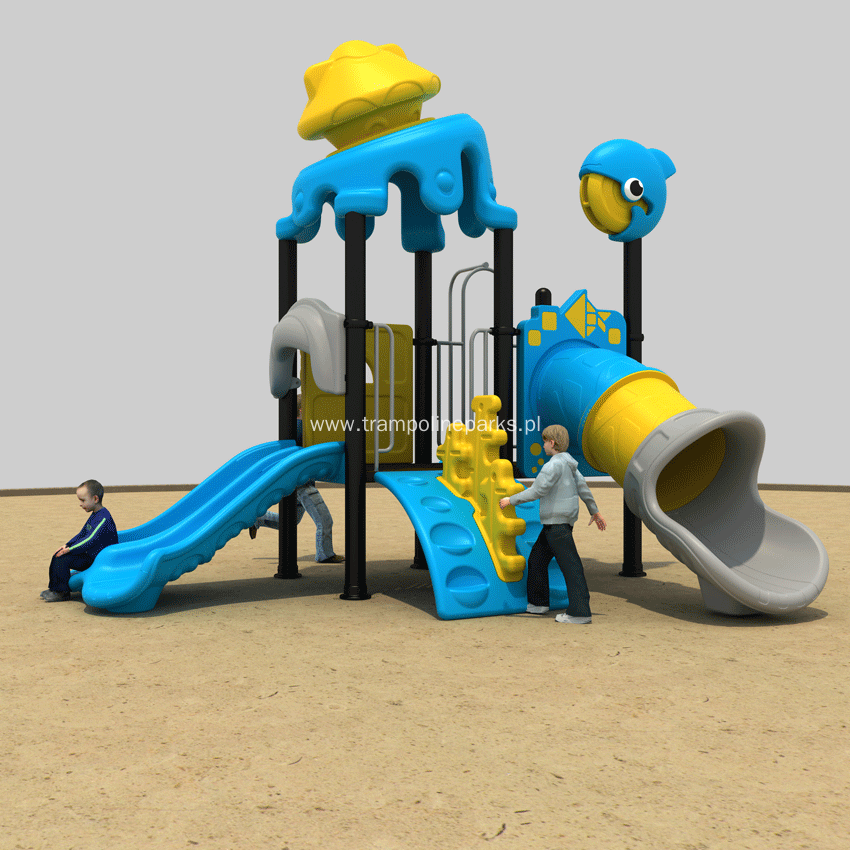 Outdoor Playground Play Structure