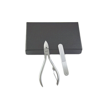 Nail cuticle remover tool angled cuticle clippers