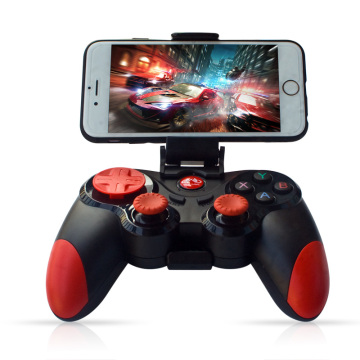 Wireless Android Gamepad IOS S5 Wireless Joystick Game controller Bluetooth 4.0 Joystick for Moblie phone Tablet TV BOX holder