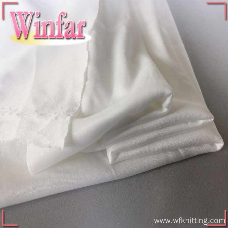 DTY Polyester Dyed Knit Textile Interlock Fabric