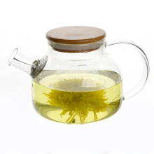 Heat Resistant Blooming Tea Pumkin Glass Teapot