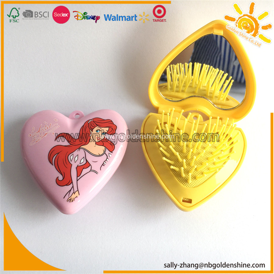 Promotion Foldable Mirror And Comb