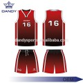 Cheap mesh fabric basketball uniforms