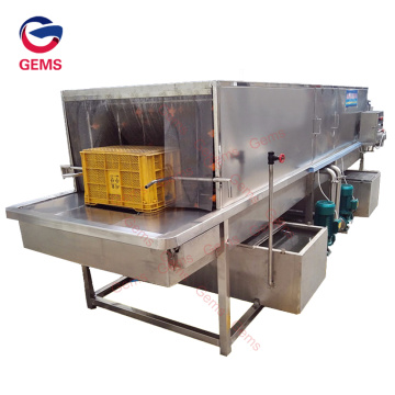Cheap Turnover Basket Pallet Box Cleaner Cleaning Machine