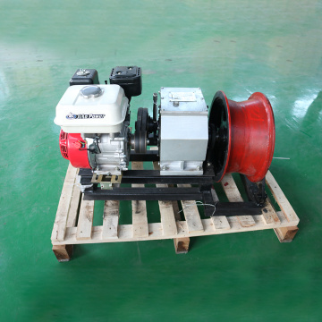 3T Electric Cable Pulling Machine Engine Cable Power Winch