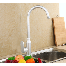 High Quality Single Handle space aluminum oxide Sink Deck Mounted Kitchen Faucet