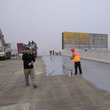 Bridge deck preservation polyurea waterproofing