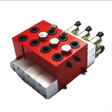 track drilling machine proportional valve