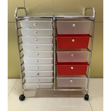 15 drawers rolling cart