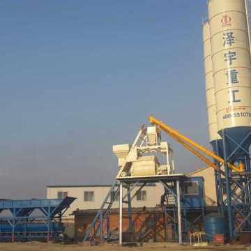 HZS75 ready mixed concrete mixing plant Singapore