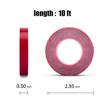 Heavy Duty Transparent Double Side Adhesive Tape