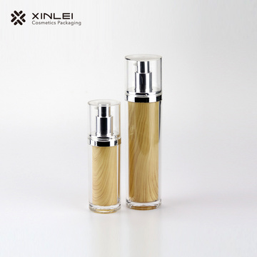 Cylindrical emulsion bottle lotion bottle