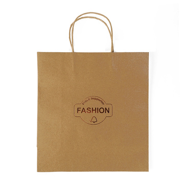 Selling Simple Design Fashion Kraft Paper Packaging Bag