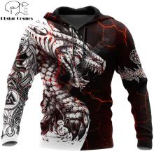 Black & White Tattoo Dragon 3D Printed Men Hoodies Sweatshirt Unisex Streetwear Zipper Pullover Casual Jacket Tracksuits KJ0192