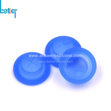 Customized silicon slit one way bottle cap valve