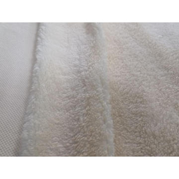 100% Polyester Sherpa Fleece soild Knitting Fabric