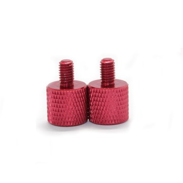 Knurled Anodized Aluminum Thumb Screw Nut