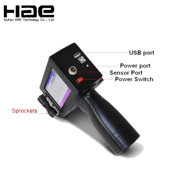 Intelligent Touch Screen Inkjet Handheld Coding Machine