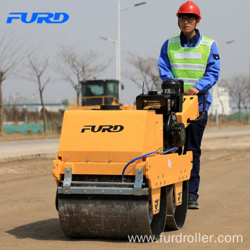 Small Walk Behind Manual Road Roller Price