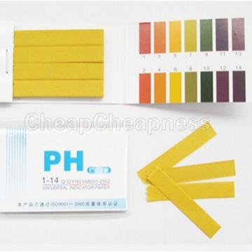 Full Range 1-14 PH 80 Strips Paper Analyzers Test Paper Strips Chemistry Teaching Supplies