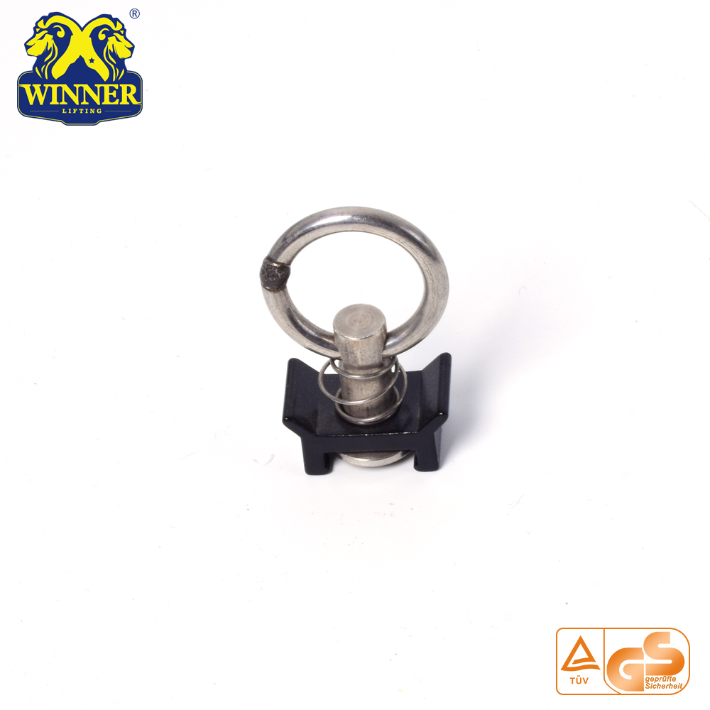 Aluminum Base Single Stud Fitting With Stainless Steel O Ring