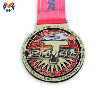 Best price gold medal logo production