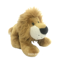 Crouching Plush Lion Toy