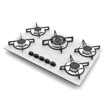 White Cooktop Built-in Stove