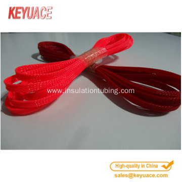 Serviceable carbon fiber braided cable sleeving