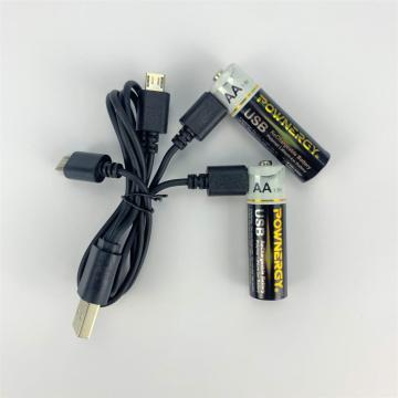 Renewable AA Battery With Charger For Camping Backup