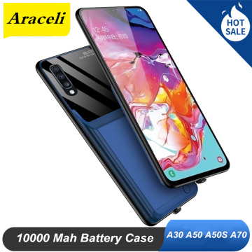 Araceli 10000 Mah For Samsung Galaxy A30S A50 A50S A70 Battery Case Smart Phone Battery Charger Case Power Bank A70 Battery Case