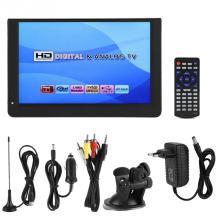 LEADSTAR 12inch 1080P Mini 16:9 LED Handheld DVB-T/T2 Digital Analog Portable TV Television Player for Home Car for EU Plug