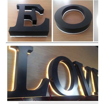 Custom Shop Front Signs Metal Letters for Sale