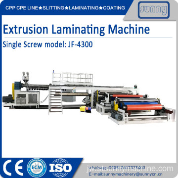 Laminating Machine Single Screw Extrusion
