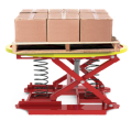 Pallet positioner and level loader