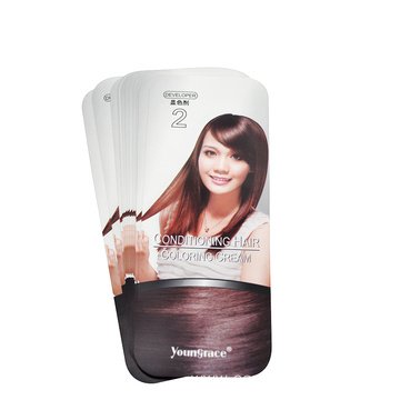 Shampoo in mold sticker label printing