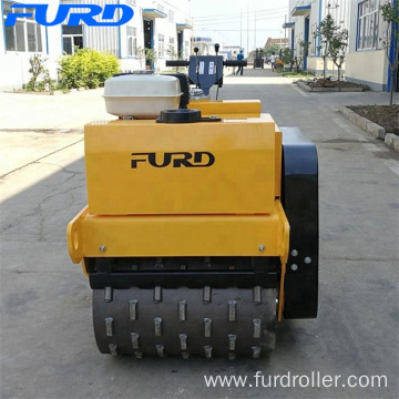 Pull Type Pad Foot Road Roller For Sale