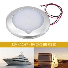 9-30V RC LED Touch Luminosity RV Roof Ceiling Cabin Light IP67 Touch Dimming Marine Interior Lamp Caravan Accessories