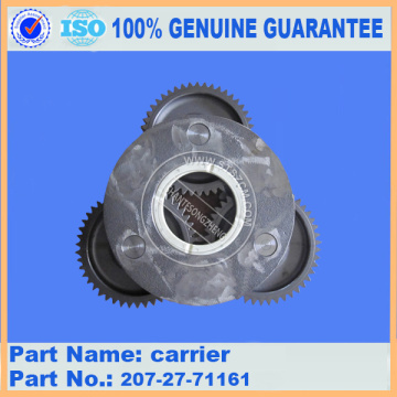 PC300-7 carrier 207-27-71161 komatsu excavator spare parts