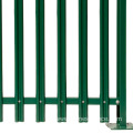 Wrought Iron Galvanized Garden Steel Security Palisade Fence