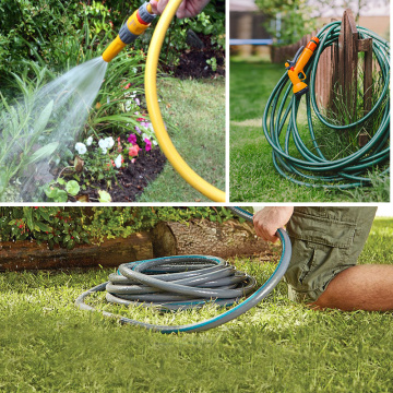 rubber transparent garden hose washing equipment