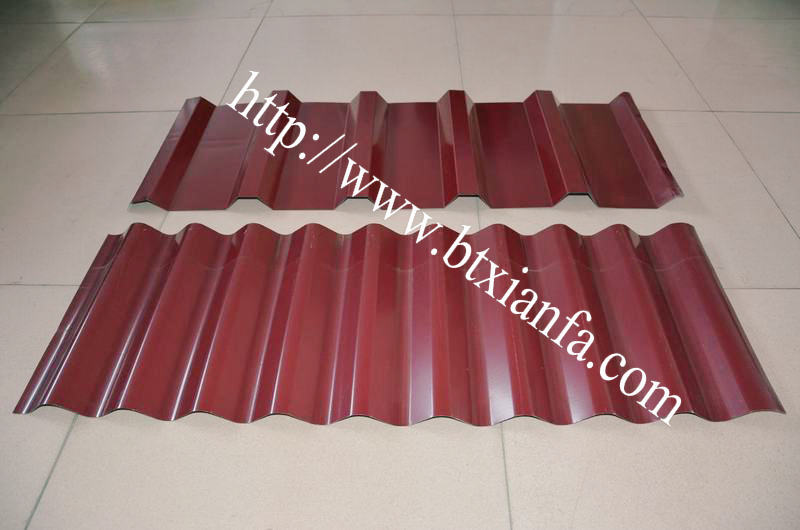 Metal Deck Roll Forming