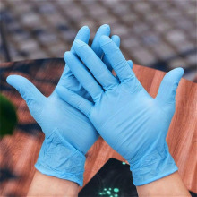 CE FDA Medical Examination Nitrile Disposable Gloves