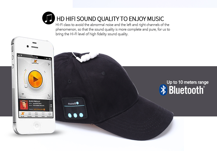 Hat Wireless Bluetooth Smart Cap