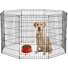 8 Panel Metal Pet Playpen